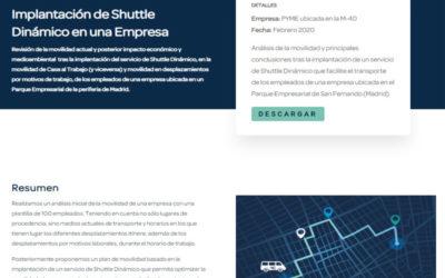 Caso de Estudio: Implantación Shuttle Dinámico en Empresa de Madrid
