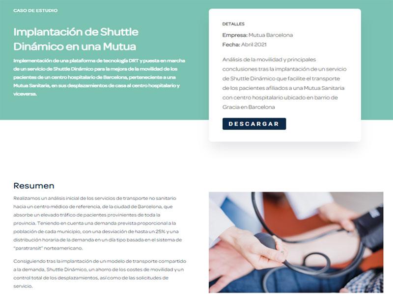 caso estudio mutua sanitaria transporte pacientes shuttle dinamico